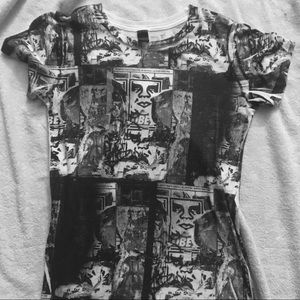 OBEY Juniors Large Tee